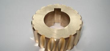 Изготовление шестерен из стали, бронзы, латуни